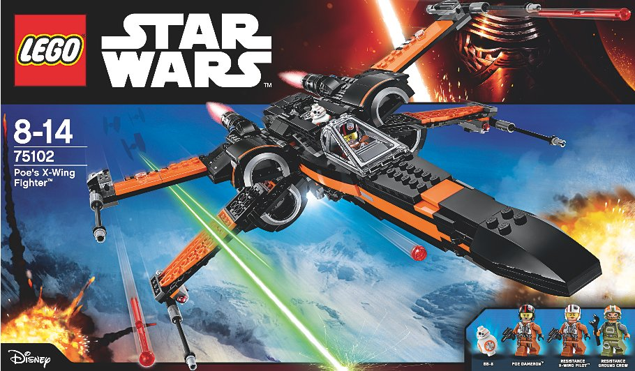 Lego Star Wars Poe S X Wing Fighter 75102 Kids