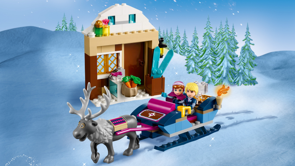 Lego Disney Princess Anna Amp Kristoff S Sleigh Adventure