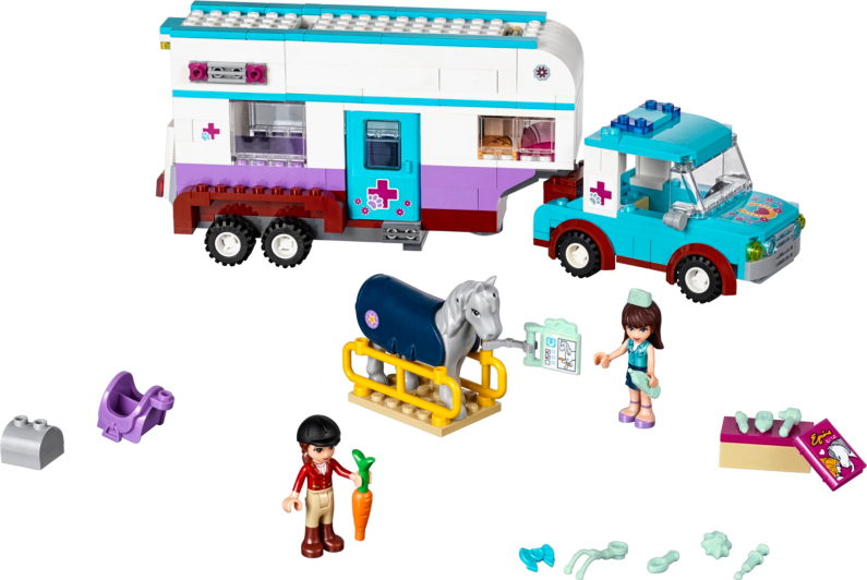 how to build lego friends heartlake vet
