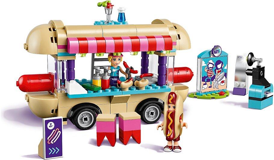 Lego Friends Heartlake Amusement Park Hot Dog Van