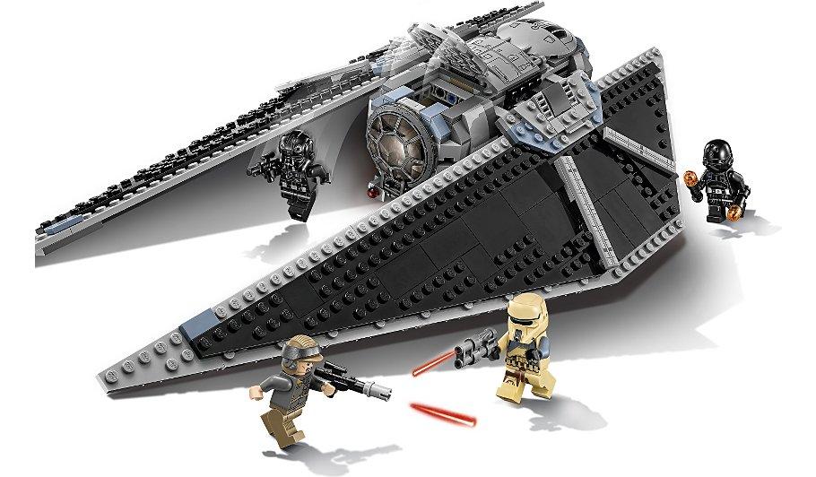Lego Star Wars Tie Striker 75154 Kids George At Asda