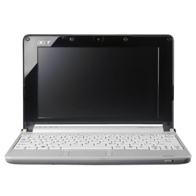 Acer White Acer Aspire One Netbook S040A