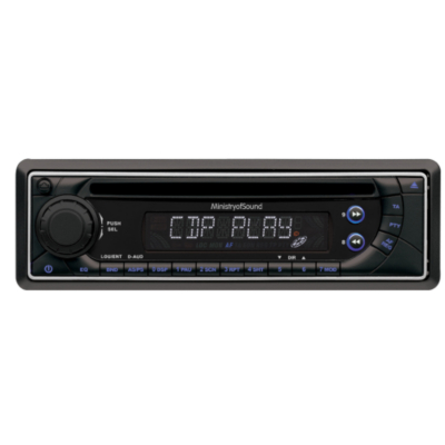 Ministry of Sound MP3 CD Car Tuner