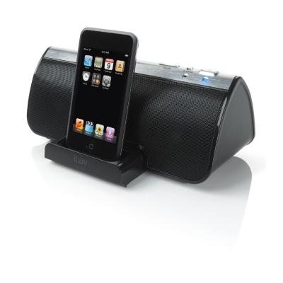 docking station clock radio player ipodmeijer ipod touch 64. Black Bedroom Furniture Sets. Home Design Ideas
