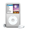iPod Classic Silver with In Car Charger alternative view