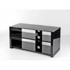Troy Boutique TV Stand up to 42ins TVs - Black Glass
