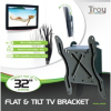 Troy Flat and Tilt TV Bracket up to 32ins TVs alternative view