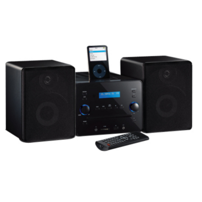 cashback home alarm clock iphone and ipod dock by asda sw8626. Black Bedroom Furniture Sets. Home Design Ideas