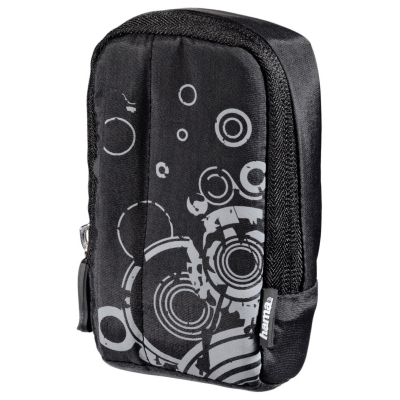 Fancy Print 60L Camera Bag - Black, Black