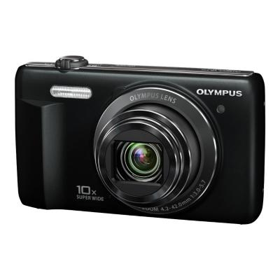 VR-340 Digital Compact Camera - Black,