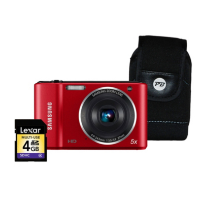ES90 Red Camera Kit inc 4GB SD Card and