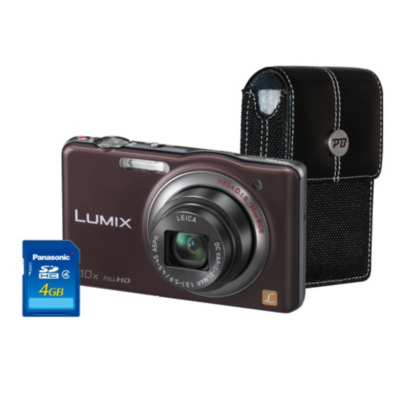 DMC-SZ7 Brown Camera Kit inc 4GB SD