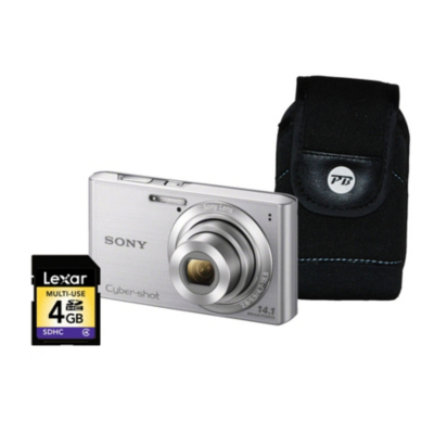 DSC-W610 Camera Silver Kit 1 inc 4Gb SD