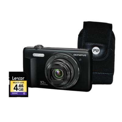 VR-340 Smart 3D Black Camera Kit inc 4GB