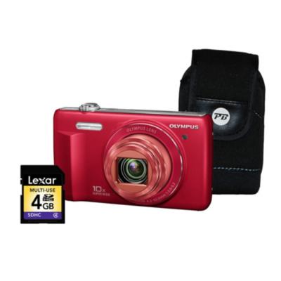 VR-340 Smart 3D Red Camera Kit inc 4GB