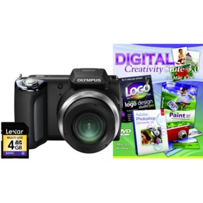 SP-620UZ Black Camera Kit inc Creativity