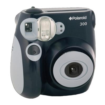 PIC300 Instant Digital Camera - Black,