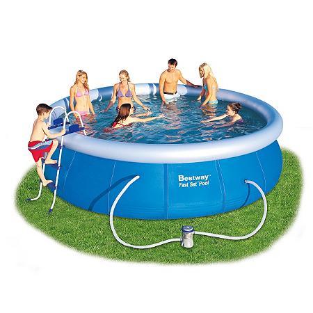 Fast set pool 15ft x garden buildings asda direct for Fast set gartenpool