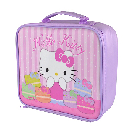 hello kitty rectangle lunch bag dining asda direct. Black Bedroom Furniture Sets. Home Design Ideas