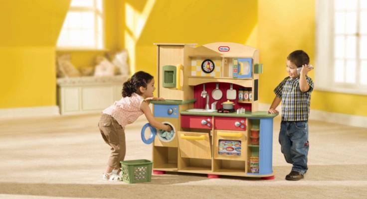 little tikes premium wood kitchen 609893 review compare. Black Bedroom Furniture Sets. Home Design Ideas