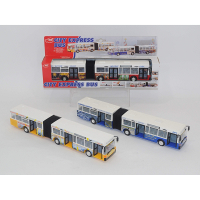 Die-Cast City Express bus