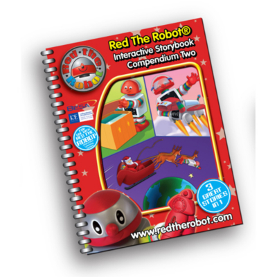 Red the Robot - Interactive Story Book 2