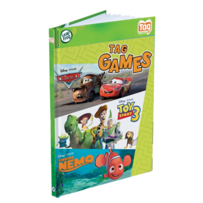 Tag Activity Puzzle Book: Disney Pixar