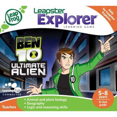 Leapster Explorer Learning Game: Ben 10