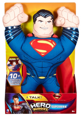 Superman Man of Steel Hero Buddies Superman Plush Toy