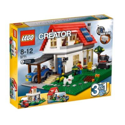 Creator - 3 in 1 Family House Set 5771