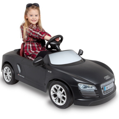exclusive toys audi r8 pedal powered car 622651 mat. Black Bedroom Furniture Sets. Home Design Ideas