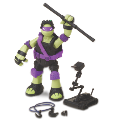 TMNT Action Figure  Stealth Tech Don