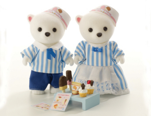 Sylvanian Families Ice Cream Driver and Seller