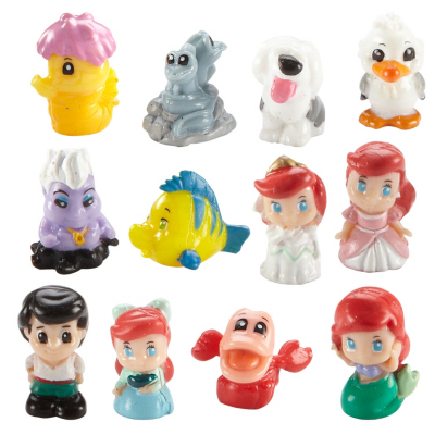 Squishy Toys Asda : Squinkies Disney Princess 12 Piece Bubble Pack - - review, compare prices, buy online