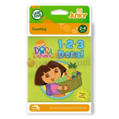 Tag Junior 1-2-3 Dora Book 21107