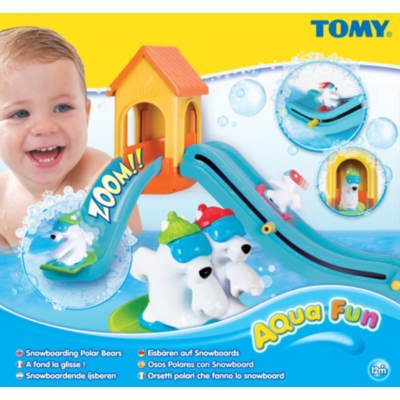 Tomy Snowboarding Bears T71162 product image