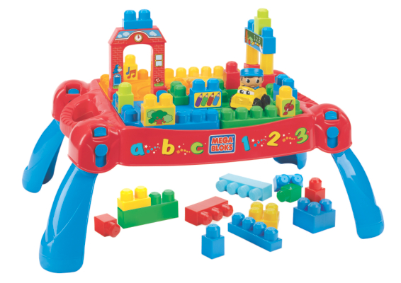 Megabloks First Builders Build n Learn Table