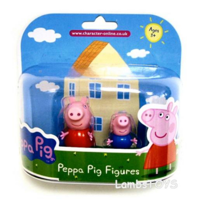 Peppa Pig Twin Pack of Figures