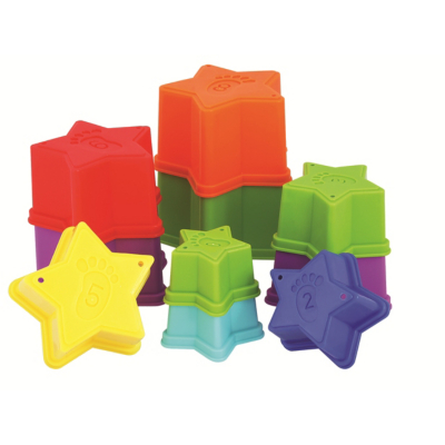 Play and Learn Stacking Stars