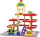 Wooden Garage Playset