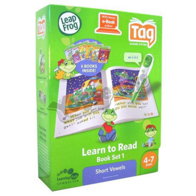 Tag Learn to Read Vowel Book Set 22330