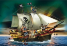 Playmobil Large Pirate Attack Ship - 5135