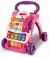 Vtech First Steps Baby Walker - Pink main view