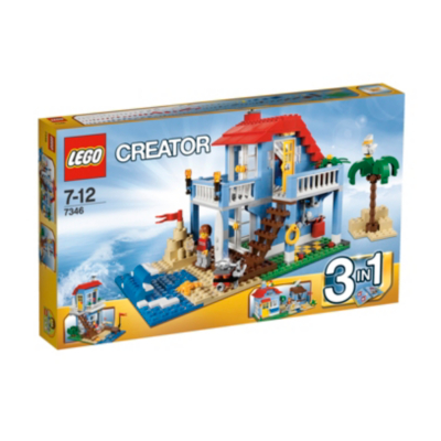 Creator - 3 in 1 Seaside House 7346