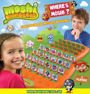 Moshi Monsters Wheres Moshi? 78200