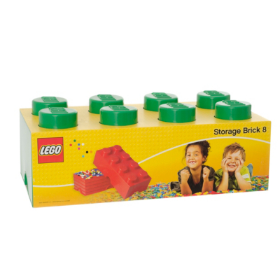 12 Litre Storage Brick 8 Green L4004G.00 - CLICK FOR MORE INFORMATION
