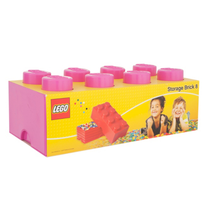 12 Litre Storage Brick 8 Pink L4004P.00 - CLICK FOR MORE INFORMATION