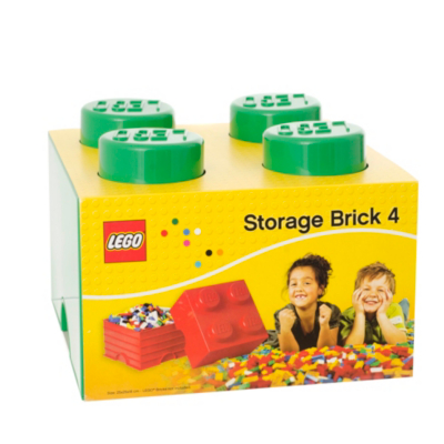 6 Litre Large Storage Brick - Green L4003G.00 - CLICK FOR MORE INFORMATION
