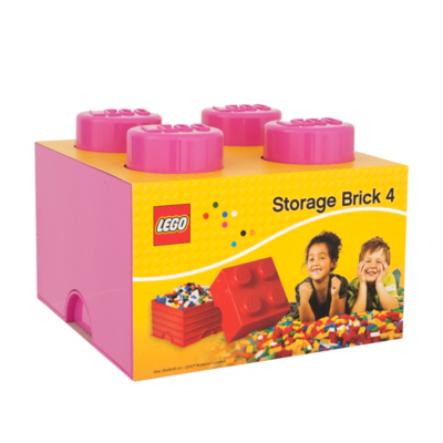 6 Litre Large Storage Brick - Pink L4003P.00 - CLICK FOR MORE INFORMATION