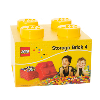 6 Litre Large Storage Brick - Yellow - CLICK FOR MORE INFORMATION
